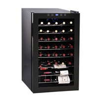 34-BottleTouchscreen Wine Refrigerator Cooler