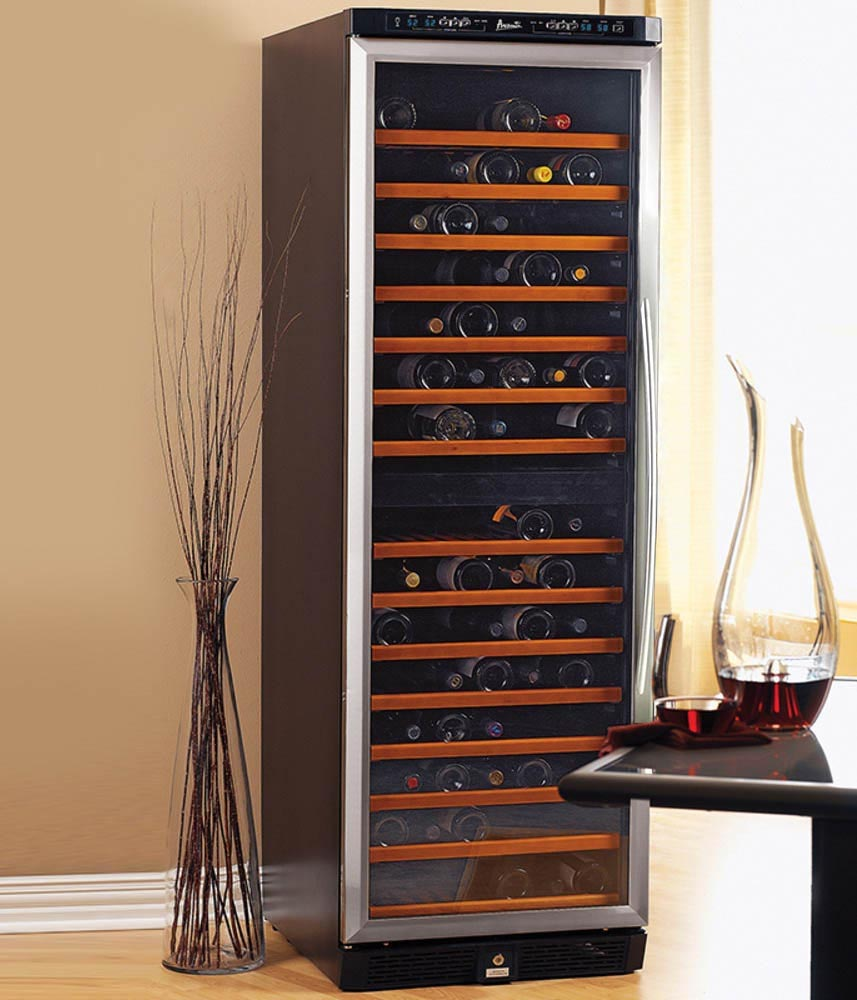 Cabinet With Wine Cooler Avanti Wcr683dzd 2 149 Bottle Dual Zone Wine Cooler