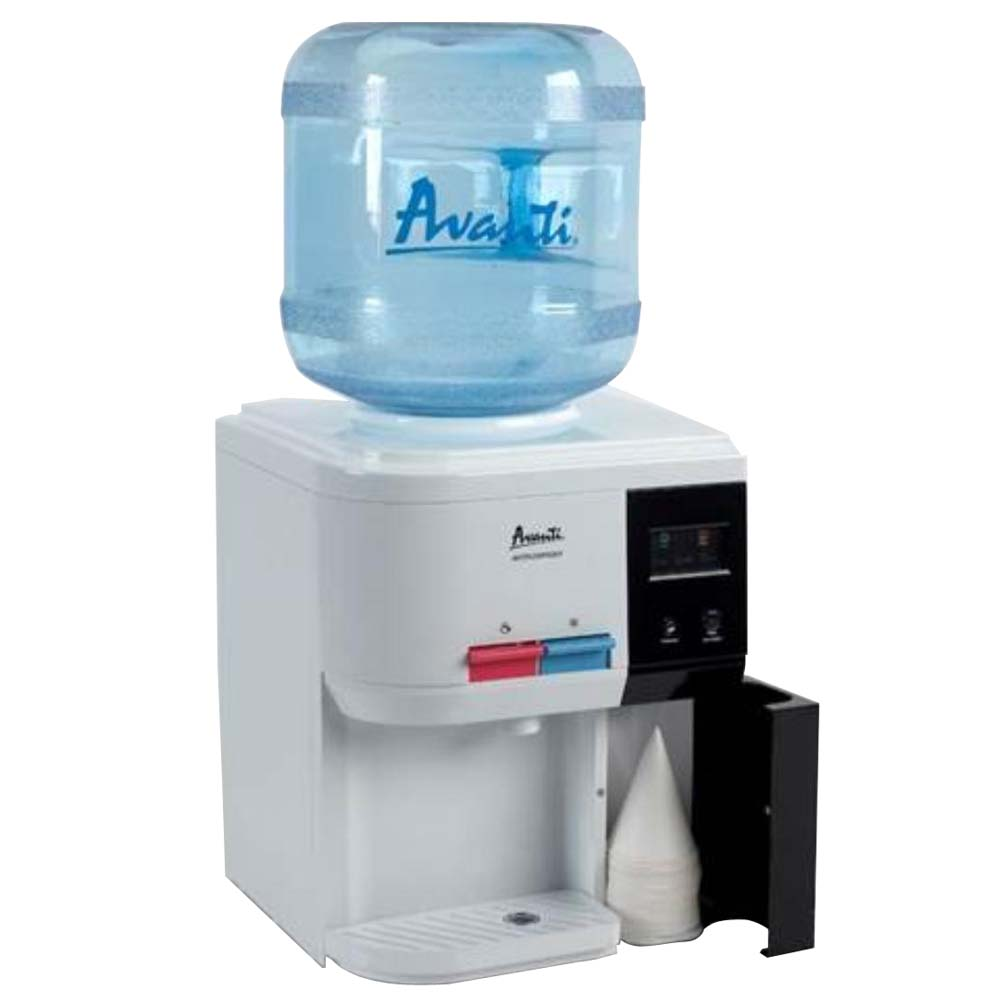 Avanti WD31EC Tabletop Thermoelectric Hot and Cold Water Cooler ...