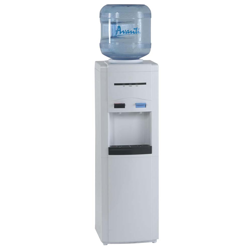 Refrigerated Water Dispenser Avanti Wdc750wih Hot And Cold Water Bottle Dispensing Cooler