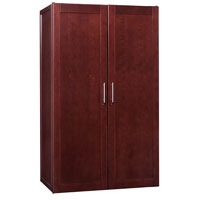 Wine Vault 3100 368-Bottle Premium Wine Cellar - Classic Cherry Finish