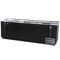 Commercial Horizontal Bottle Cooler - 28 cu. ft. Capacity