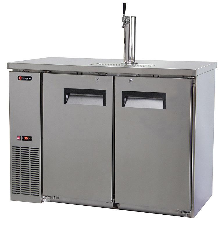 refrigerator keg. two-keg draft beer dispenser refrigerator keg