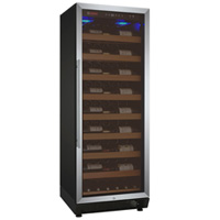 Vite Series 115 Bottle Single-Zone Wine Refrigerator - Stainless Door with Hinge On Right