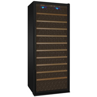 Vite Series 305 Bottle Single-Zone Wine Refrigerator - Black Door with Right Hinge