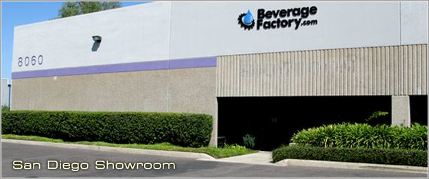 BeverageFactory.com San Diego Showroom