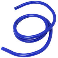 1 Foot Length of 5/16 Inch I.D. Blue Vinyl Air Line