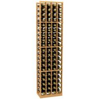 Allavino 4 Column 76 Individual Bottle Wood Wine Rack