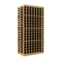 Double Deep 8 Column Wine Rack