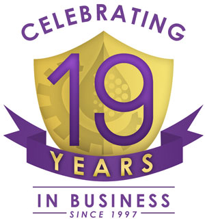 Celebrating 19 Years in Business