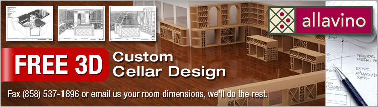 Custom Wine Rack Cellars