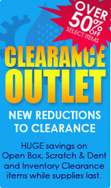 Clearance Outlet - Over 50% Off Selected Items