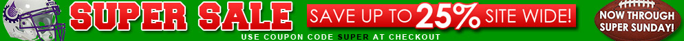 Super Sale EXTENDED - Save up to 25% Site Wide