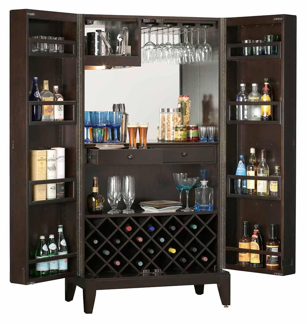 Howard Miller 695-154 Barolo Wine & Spirits Cabinet ...