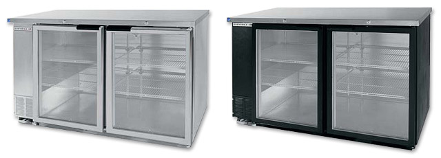 Photo of Beverage-Air BB58G Back Bar Refrigerator with Glass Doors