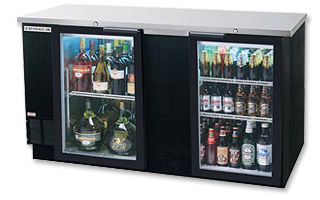 Photo of Beverage-Air BB68G Back Bar Refrigerator with Glass Doors