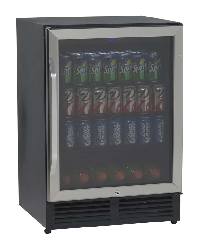 Avanti bca5448 51 cu ft beverage center refrigerator with glass 51 cu ft beverage cooler black with glass door planetlyrics Image collections