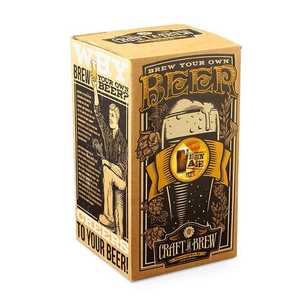 Craft A Brew Brown Ale Beer Making Kit Beveragefactory Com