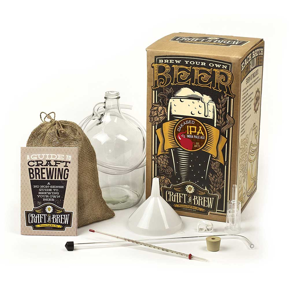 Craft A Brew Oak Aged IPA Beer Making Kit | BeverageFactory.com