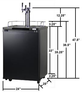Kegco K209B-3