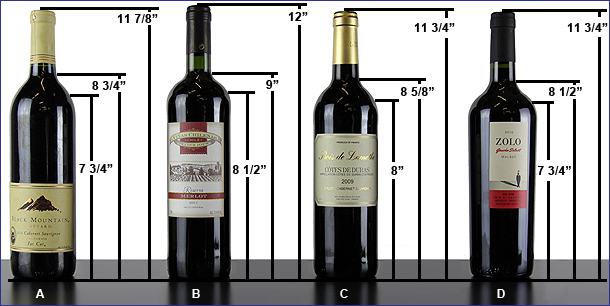 Bottle Dimensions.
