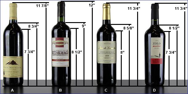 Bottle Dimensions.