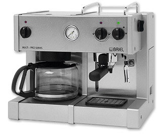 Photo of Briel Space Saver Multi-Pro Combination Espresso Machine & Coffee Maker
