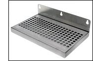 Door Mount Stainless Steel Drip Tray