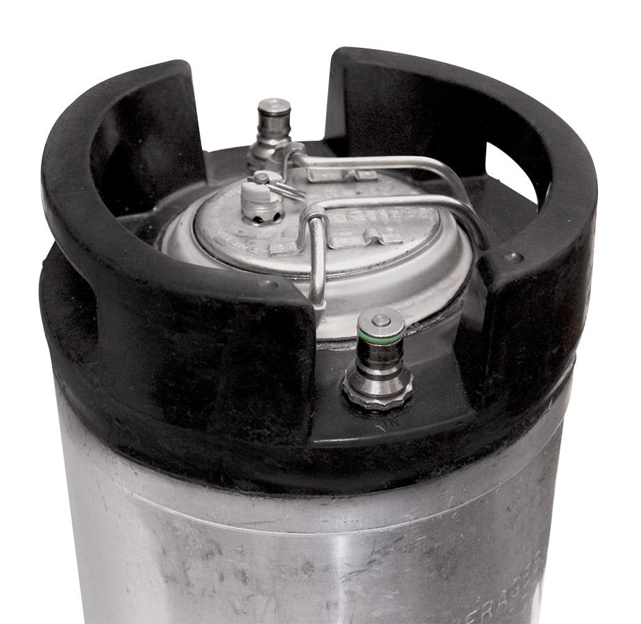 Set Of 4 Reconditioned 5 Gallon Ball Lock Keg