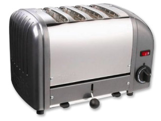 Photo of Dualit 4-Slice Classic Bread Toaster