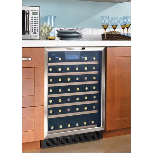 Danby Dwc508bls 50 Bottle Built In Wine Refrigerator W