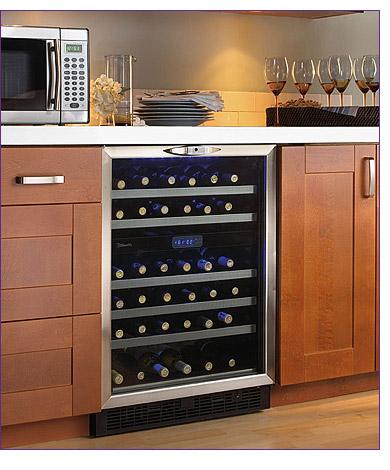 Danby Dwc518bls Built In Wine Cooler 51 Bottle