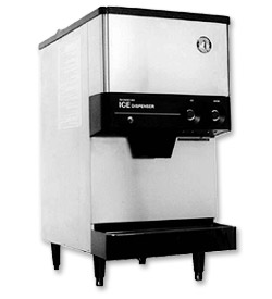 Photo of Hoshizaki DCM-270BAH Cubelet Icemaker & Dispenser