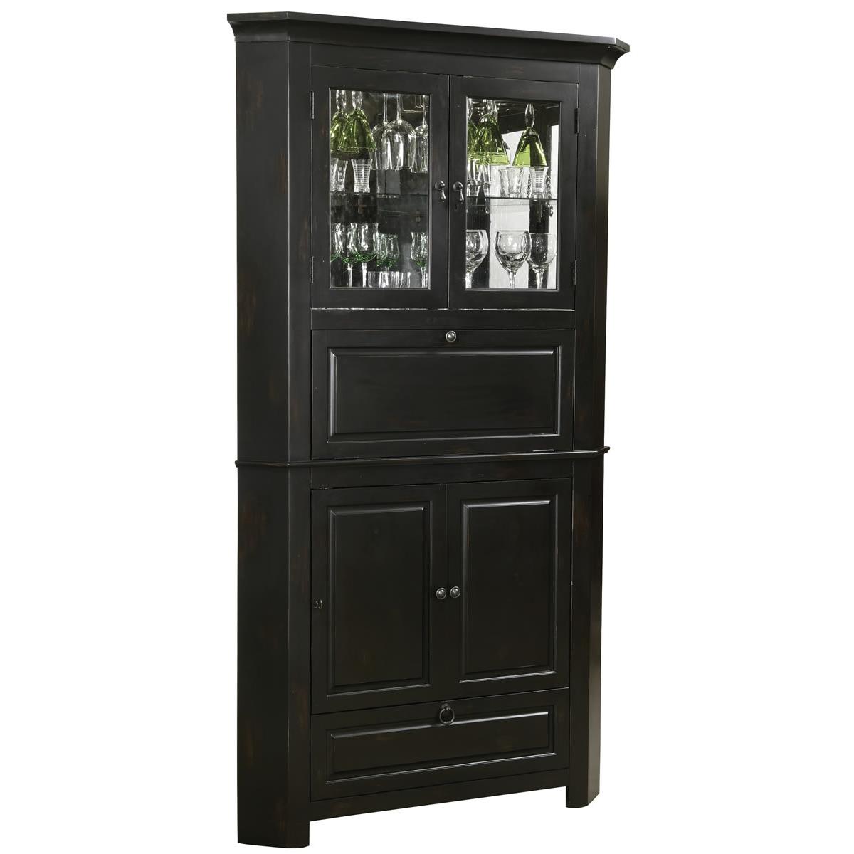 Howard Miller 695-082 Cornerstone Estates Wine & Spirits Cabinet ...