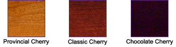 Cherry Wood Finishes