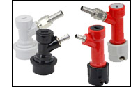 Select Ball Lock or Pin Lock Couplers
