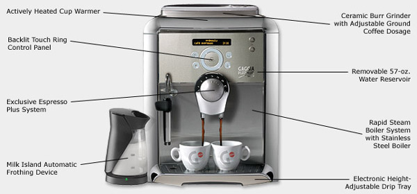 Photo of Gaggia Platinum Swing Up Super Automatic Espresso Maker
