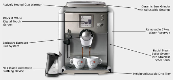 Photo of Gaggia Platinum Vision Super Automatic Espresso Maker