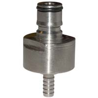 Carbonation Cap - Stainless Steel