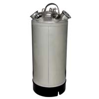 18 Liter Keg Beer Cleaning Can (install up to four different types of valves)