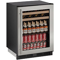 Beverage Center - Stainless Steel Trimmed Door - Field Reversible