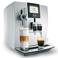 One Touch Automatic Coffee Center -  TFT - Brilliant Silver