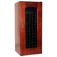 1400 Series 172 Bottle Wine Cellar - Classic Cherry Finish