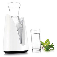 Vacu Vin Rapid Ice Cooling Carafe in White