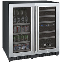 FlexCount Series Side-by-Side Dual-Zone Wine & Beverage Center