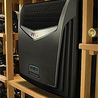 Through-the-Wall 2200 BTUH Air-cooled Wine Cooling Unit