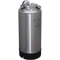 18 Litre Keg Beer Cleaning Can (install up to four different types of valves)