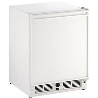 Frost-Free Refrigerator/Ice Maker Combo Model - White Cabinet with White Door