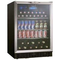 5.3 Cu. Ft. Beverage Center - Stainless Steel Door