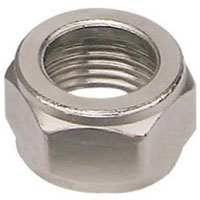 Stainless Steel Coupling Hex Nut - Set of 6